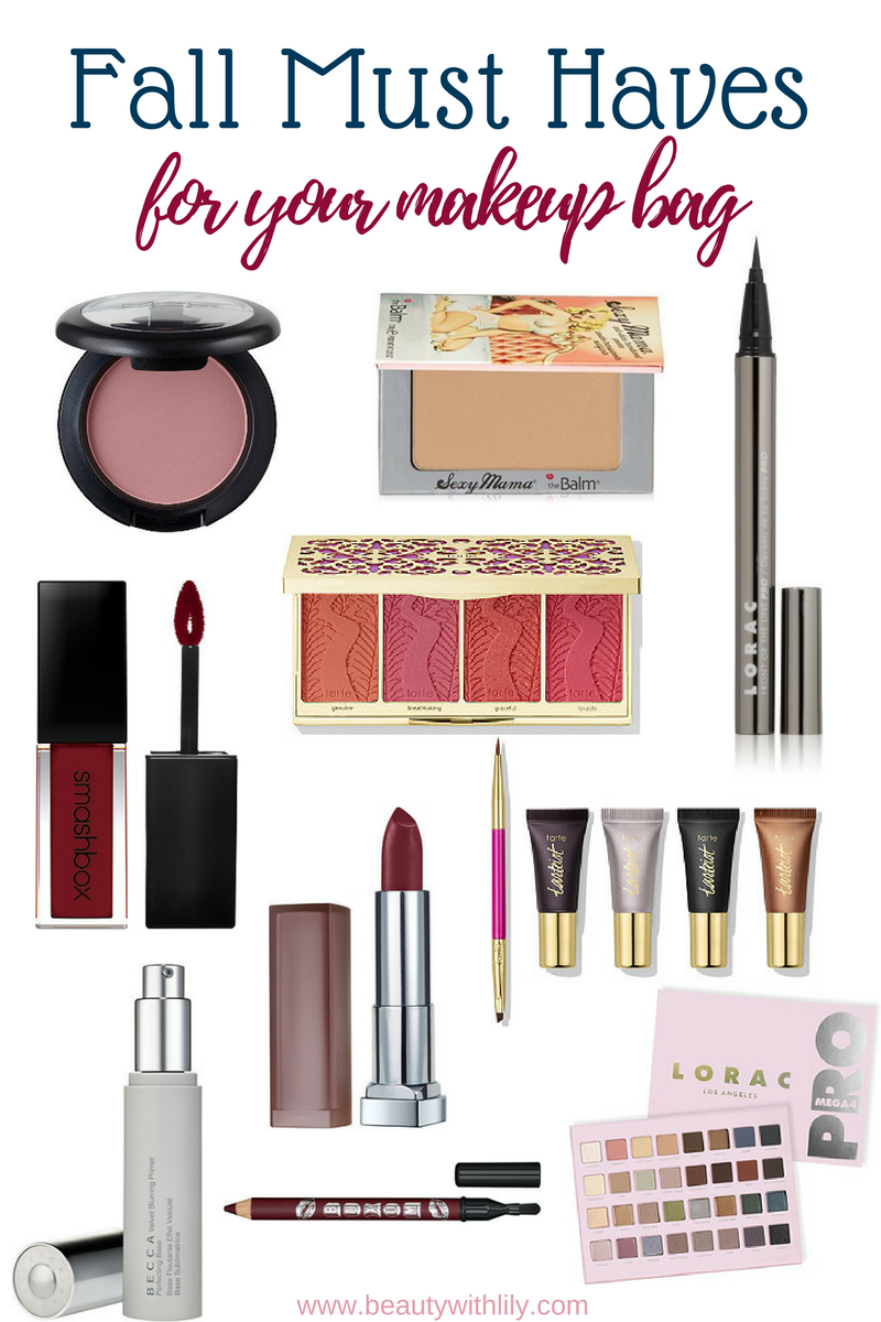 Fall Beauty Must Haves | Fall Essentials // Beauty With Lily - A Beauty, Fashion & Lifestyle Blog