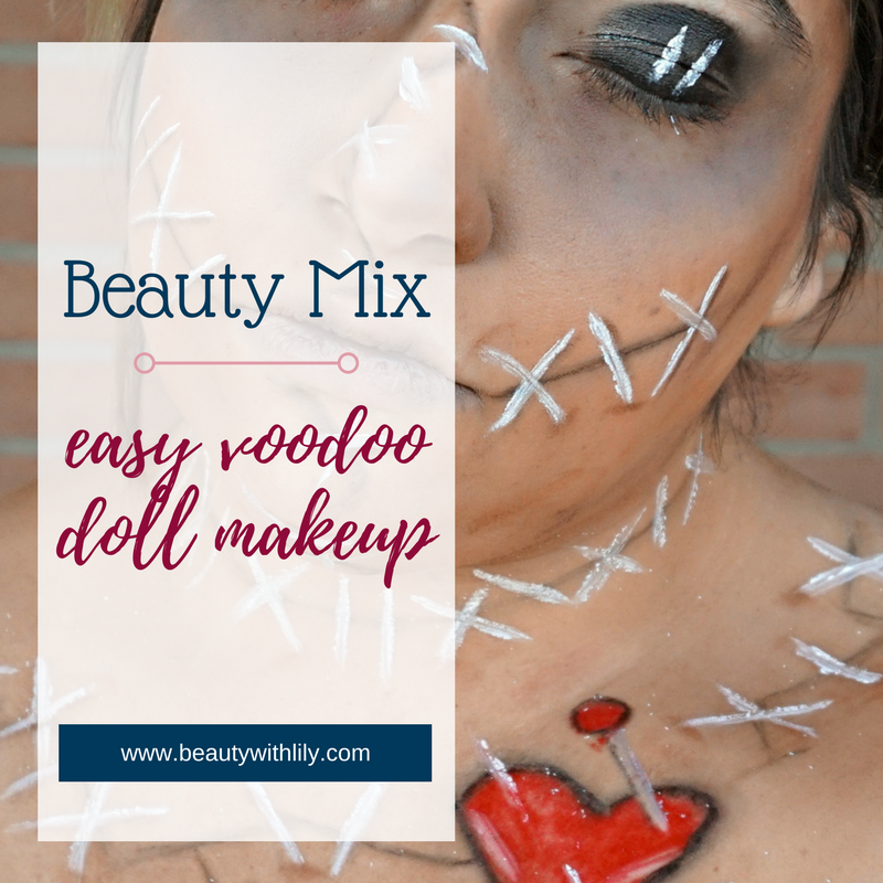 Easy VooDoo Doll Halloween Look // Beauty With Lily