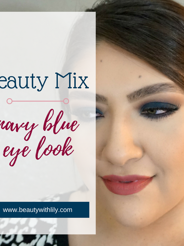 Navy Blue Eye Look // Beauty With Lily, A West Texas Beauty, Fashion & Lifestyle Blog #beautyblogger #eyemakeup
