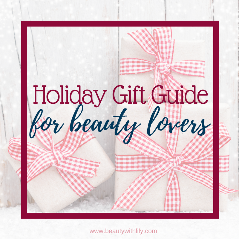 Sephora Gift Guide Under $50 // Affordable Beauty Lovers Gift Guide | Beauty With Lily #beautyblogger #giftguide