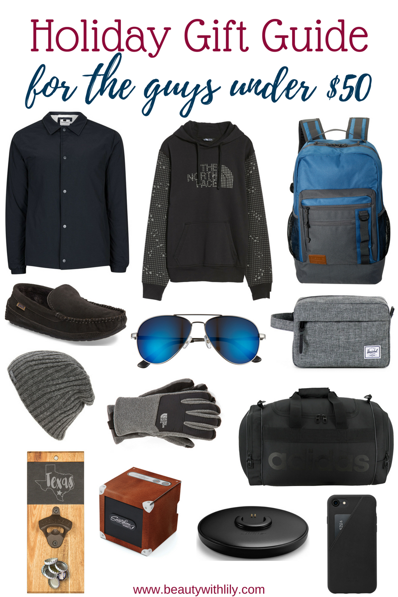 Ultimate Gift Guide For The Guys // Men's Gift Guide & Men's Stocking Stuffer Ideas   Beauty With Lily