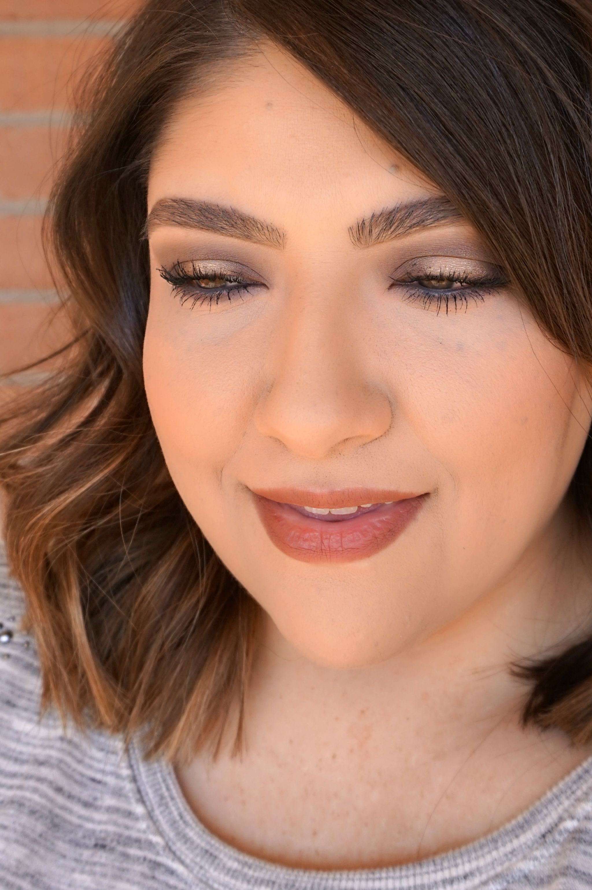 Easy Gold Eye Makeup Look / Beauty With Lily, A West Texas Beauty, Fashion & Lifestyle Blog