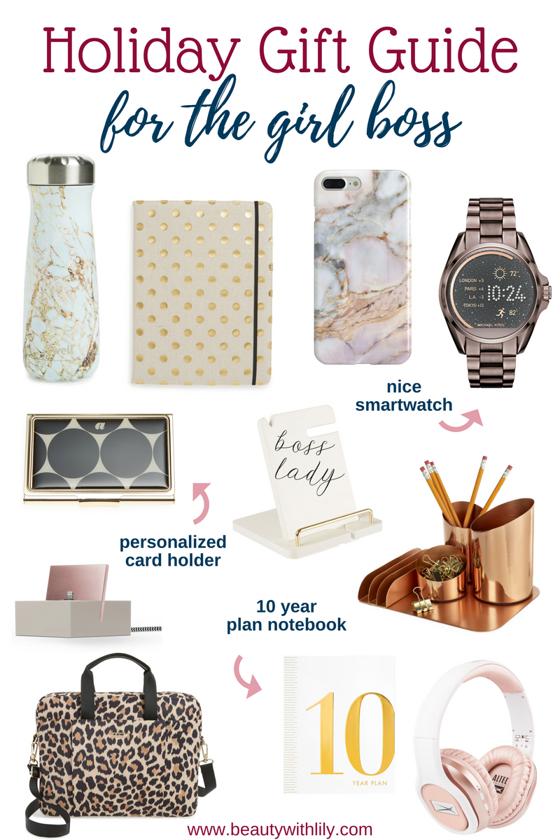 Gifts For The Girl Boss // Gift Guide For Women // Beauty With Lily   #lifestyleblogger #womensgiftguide