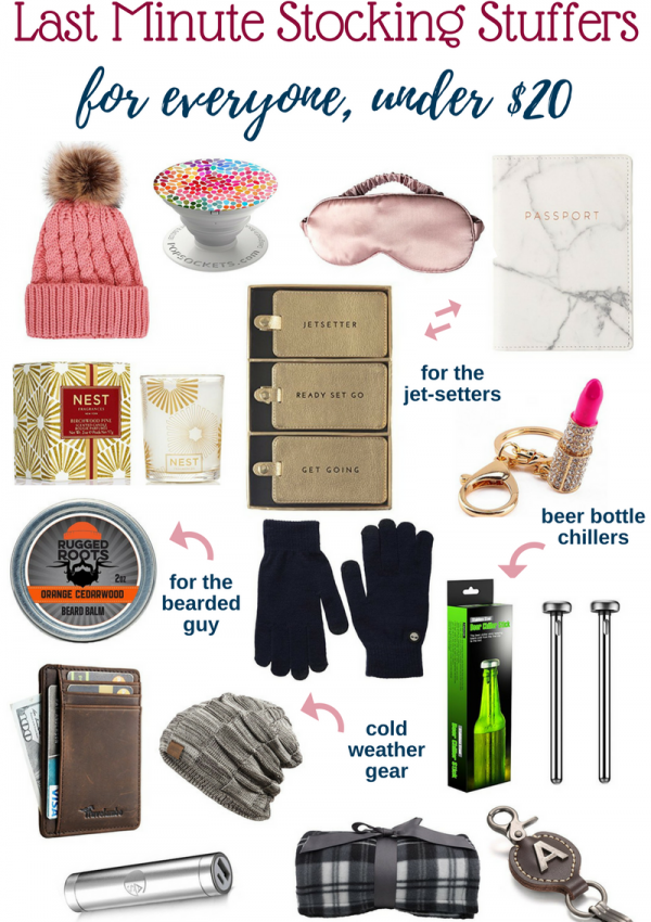 Last Minute Amazon Prime Stocking Stuffers Under $20 // Beauty With Lily #giftguide
