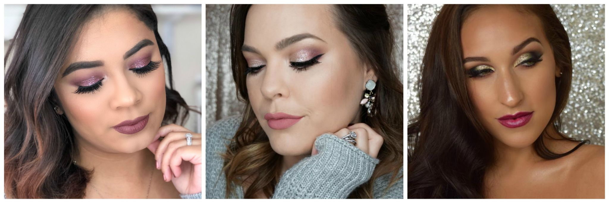 NYE Makeup Looks / Beauty With Lily
