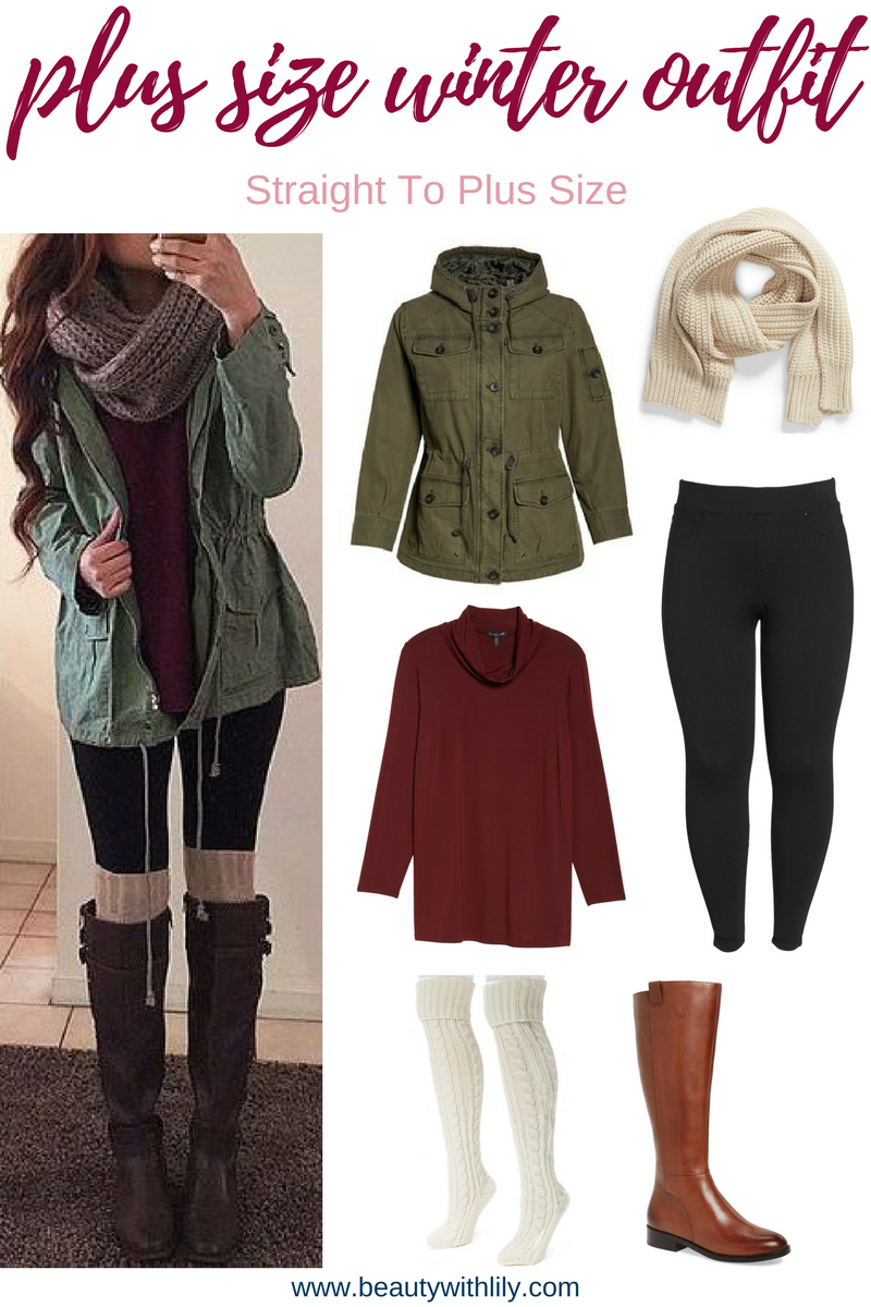 Plus Size Winter Outfits | Plus Size Fashion For Women | Beauty With Lily #fashionblogger #plussizeblogger #beautywithlily