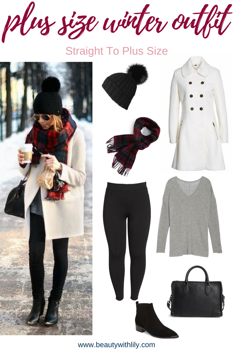 Plus Size Winter Outfits | Plus Size Fashion For Women | Outfits For Curvy Women | Beauty With Lily #fashionblogger #plussizeblogger #beautywithlily