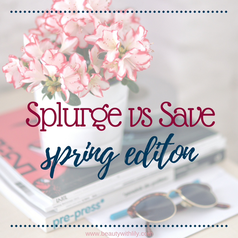 Splurge vs Save Spring Edition // Spring Trends // Designer Dupes   Beauty With Lily