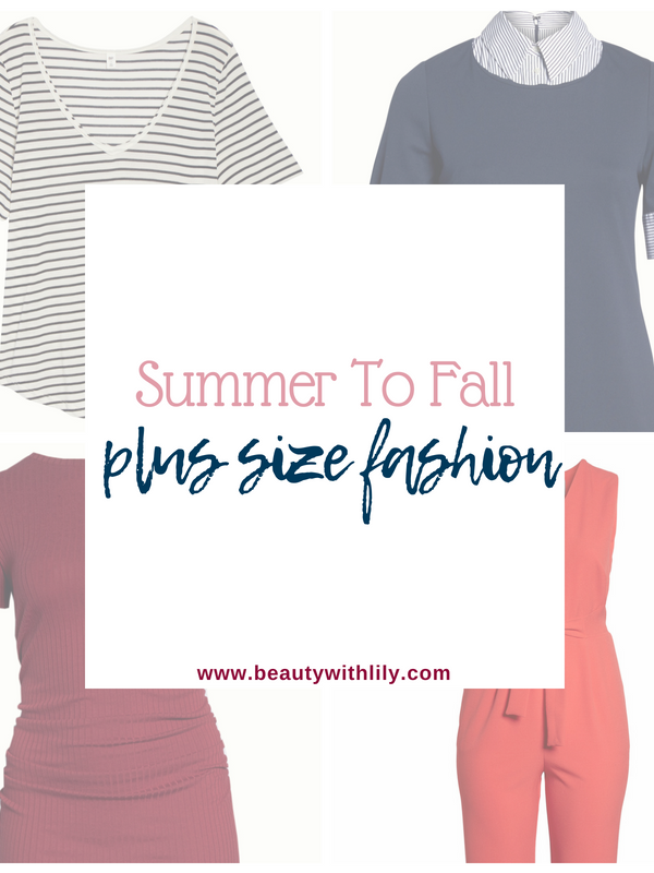 Summer To Fall Plus-Size Fashion // Plus Size Fashion | Beauty With Lily