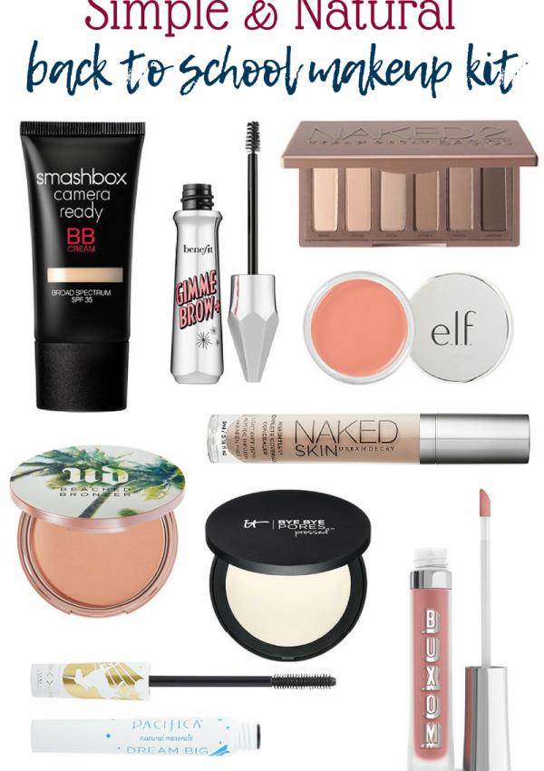 Back To School Makeup Kit // Natural Makeup Kit // Makeup for Beginners // Makeup Kit // Simple Makeup // Natural Makeup   Beauty With Lily