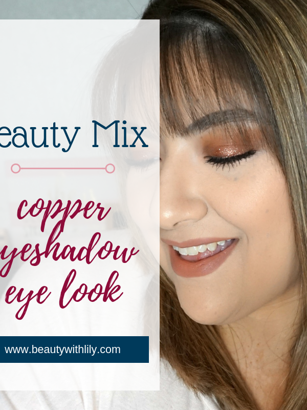 Copper Makeup Look // Halo Eyeshadow // Halo Eye Look // Easy Makeup   Beauty With Lily