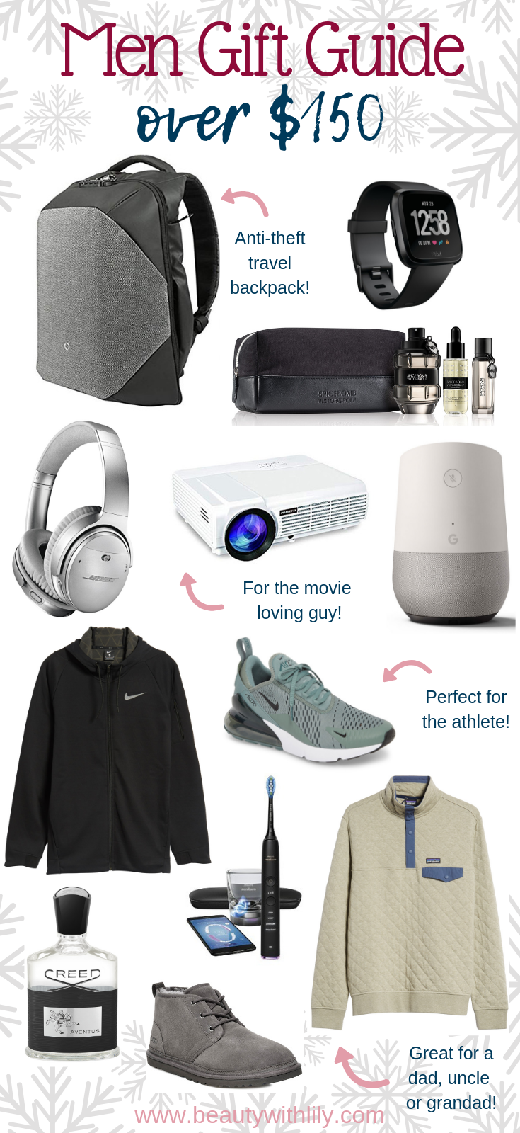 Gift Guide For Men // Gifts For Him // Stocking Stuffer Ideas For Him // Affordable Gifts For Him // Holiday Gift Guide | Beauty With Lily