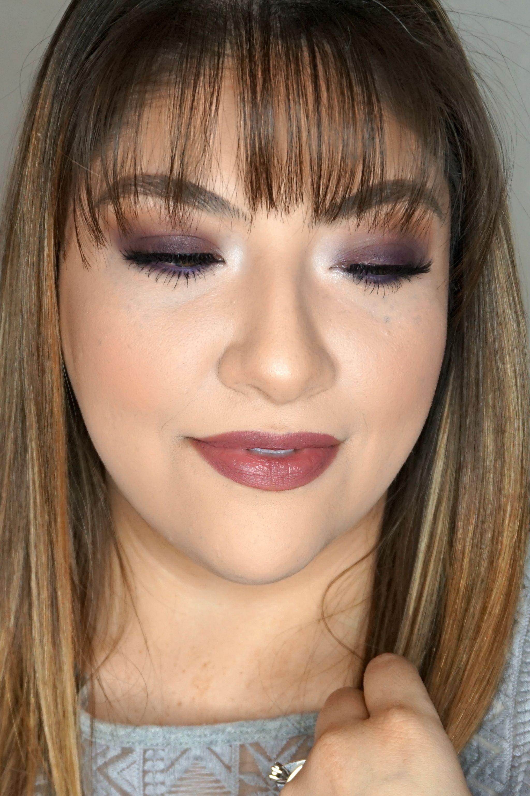 Plum Makeup Look // Glam Makeup Look // Plum Eye Look // Purple Eye Makeup // Plum Lipstick // Mauve Makeup // Fall Makeup Look // Winter Makeup Look   Beauty With Lily