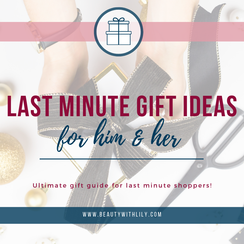 Last Minute Gift Ideas For Him // Gift Guide For Him // Holiday Gift Guide // Gift Ideas For Men // Amazon Gift Ideas   Beauty With Lily
