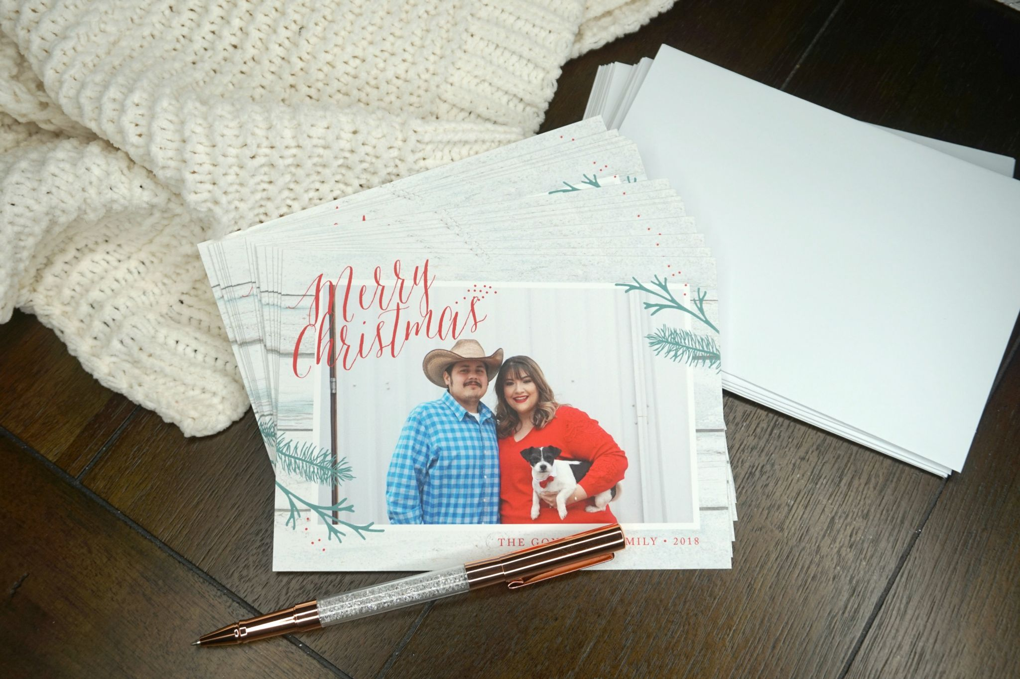 Christmas Card with Basic Invite