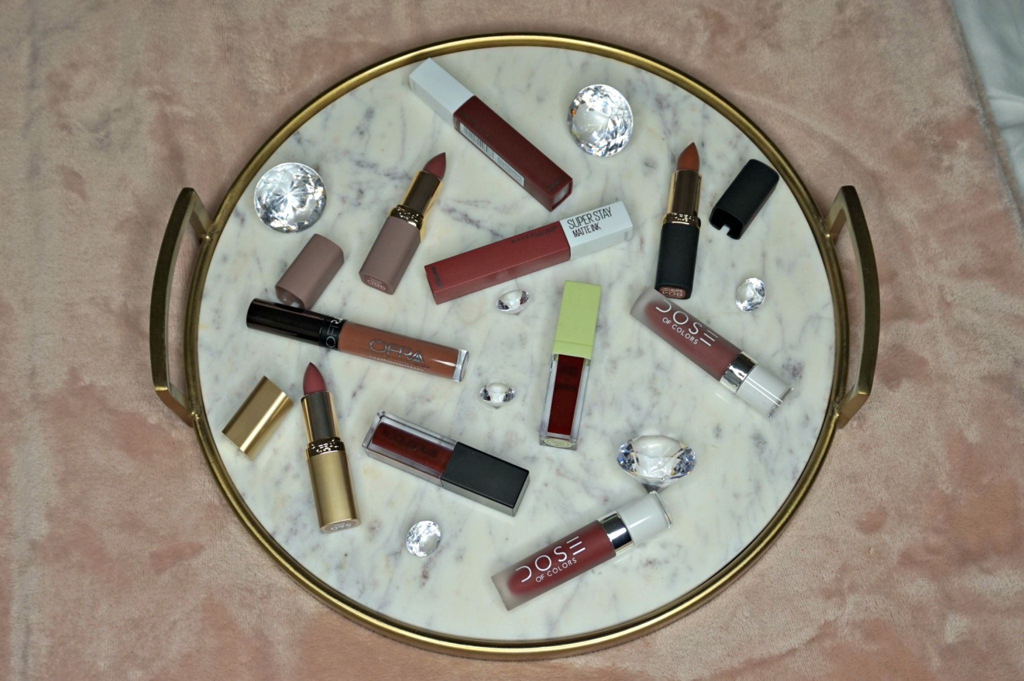 Must Have Winter Lip Colors // Nude Lip Colors // Mauve Lip Colors // Vampy Lip Colors // Lipsticks To Try | Beauty With Lily