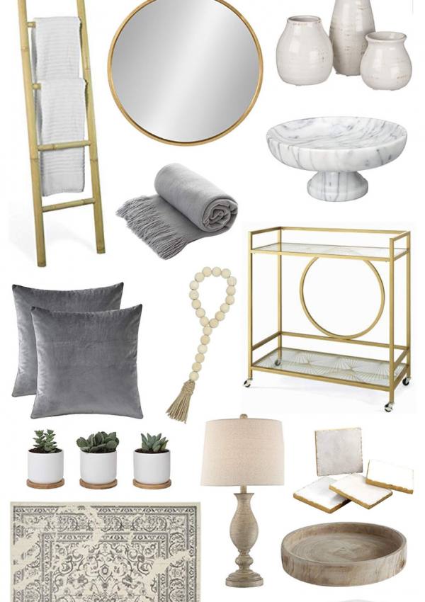 Best Home Decor Items On Amazon // Amazon Home Decor // Affordable Home Decor // Home Decor Ideas // Modern Farmhouse Home Decor // Glam Farmhouse Home Decor | Beauty With Lily