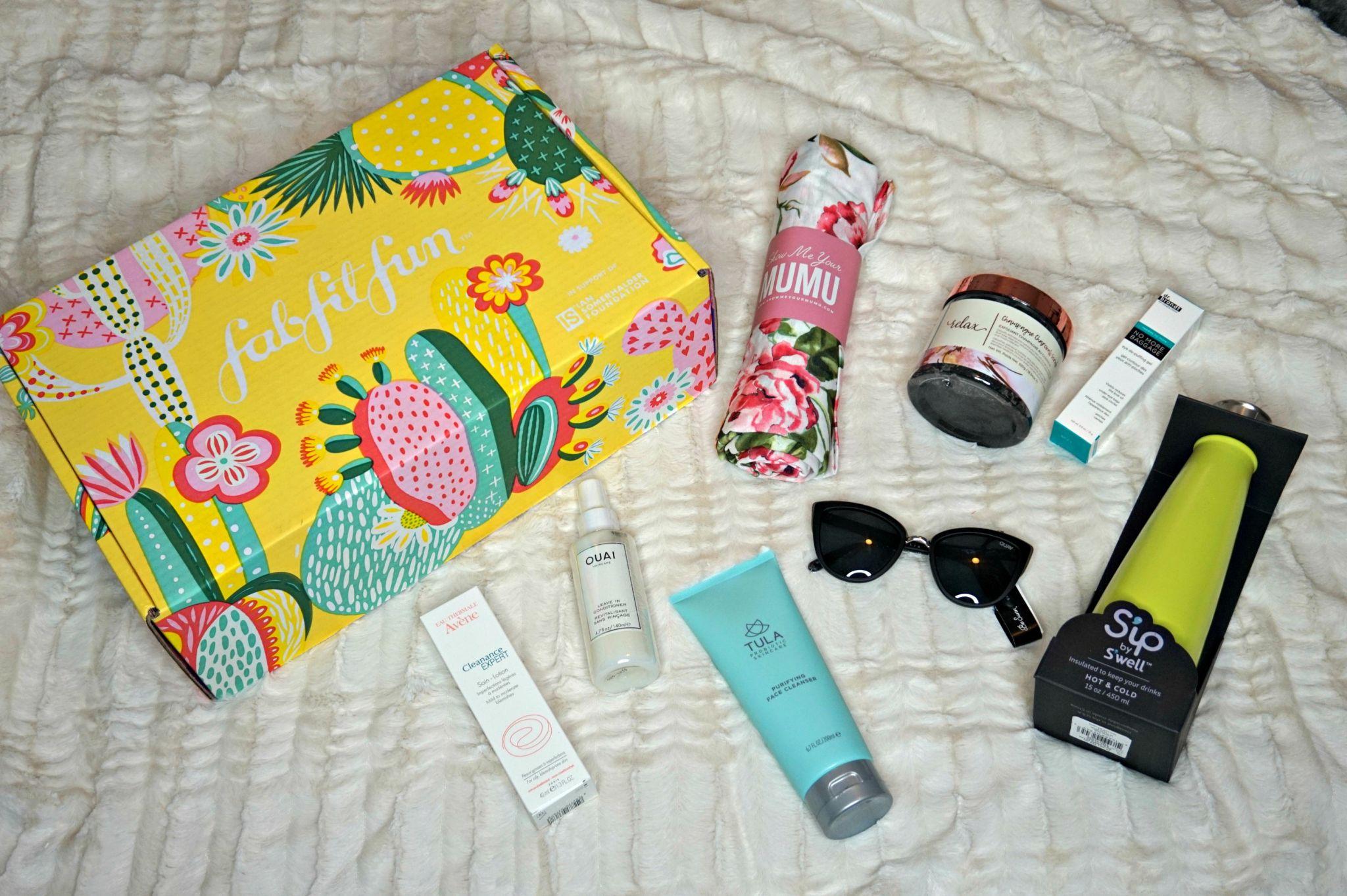 FabFitFun Spring Box 2019 // Honest FabFitFun Review // Subscription Service // Seasonal Subscription Box   Beauty With Lily