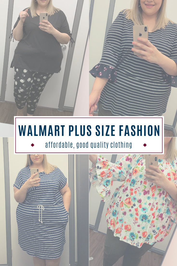 Walmart Spring Plus-Size Fashion // Affordable Plus-Size Fashion // Plus-Size Fashion // Walmart Fashion | Beauty With Lily