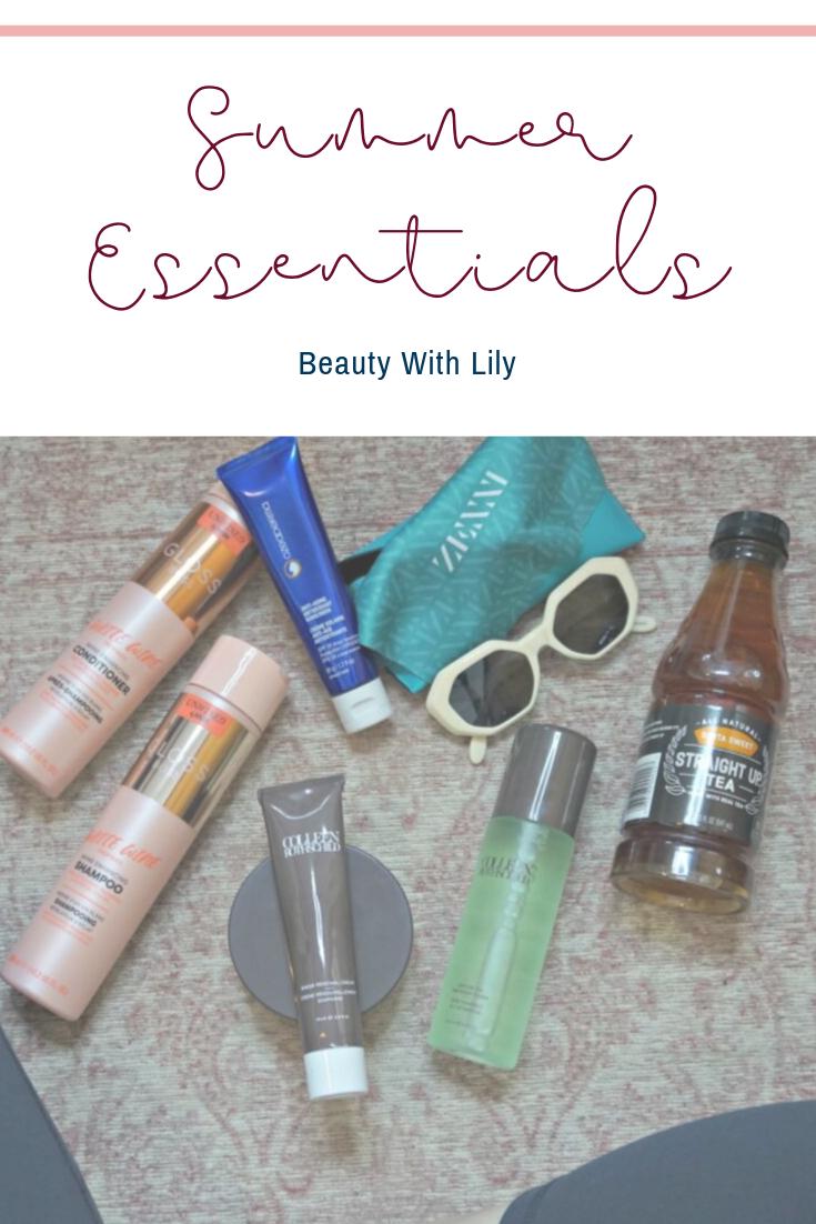 Summer Essentials // The Heat Is On // Travel Essentials // Skincare Essentials   Beauty With Lily #ad #HeatIsOnBBxx #justgotmyzennis #zennista CRothschild HASK Beauty