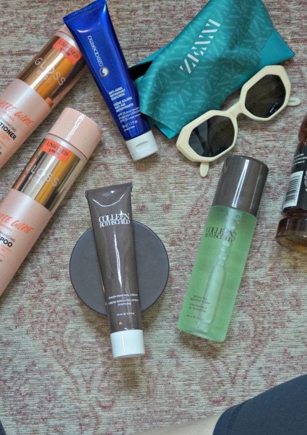 Summer Essentials // The Heat Is On // Travel Essentials // Skincare Essentials | Beauty With Lily #ad #justgotmyzennis #zennista CRothschild HASK Beauty