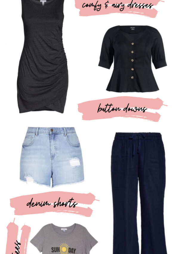 Plus Size Staple Pieces for Summer // Plus Size Fashion for Women // Plus Size Summer Fashion // Summer Outfit Ideas // Plus Size Staple Fashion Pieces // Curvy Fashion | Beauty With Lily