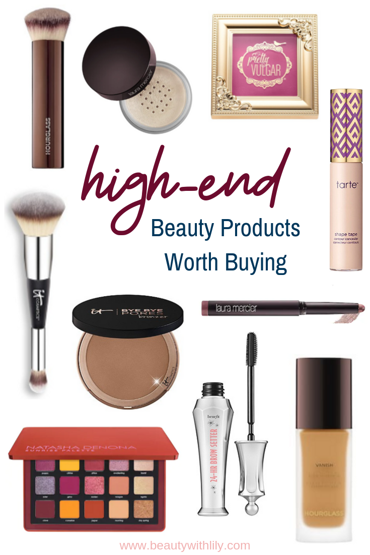High-End Beauty Products Worth Buying // Makeup Tips // Beauty Hacks // Sephora Favorites // Ulta Favorites | Beauty With Lily
