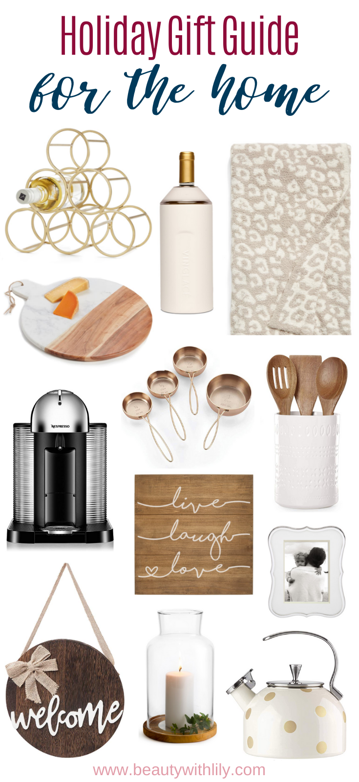 Gift Guide for the Home // Home Decor Inspiration // Gift Ideas for Home Decor Lovers // Christmas Gift Ideas // Christmas Gift Guide | Beauty With Lily