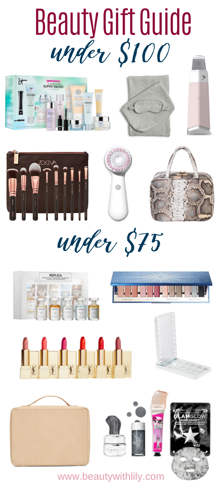 Gift Guide for Beauty Lovers // Beauty Gift Guide // Gift Ideas for Women // Gift Ideas for Teens // Stocking Stuffers for Teens // Stocking Stuffers for Makeup Lovers // Gift Guide for Makeup Lovers   Beauty With Lily