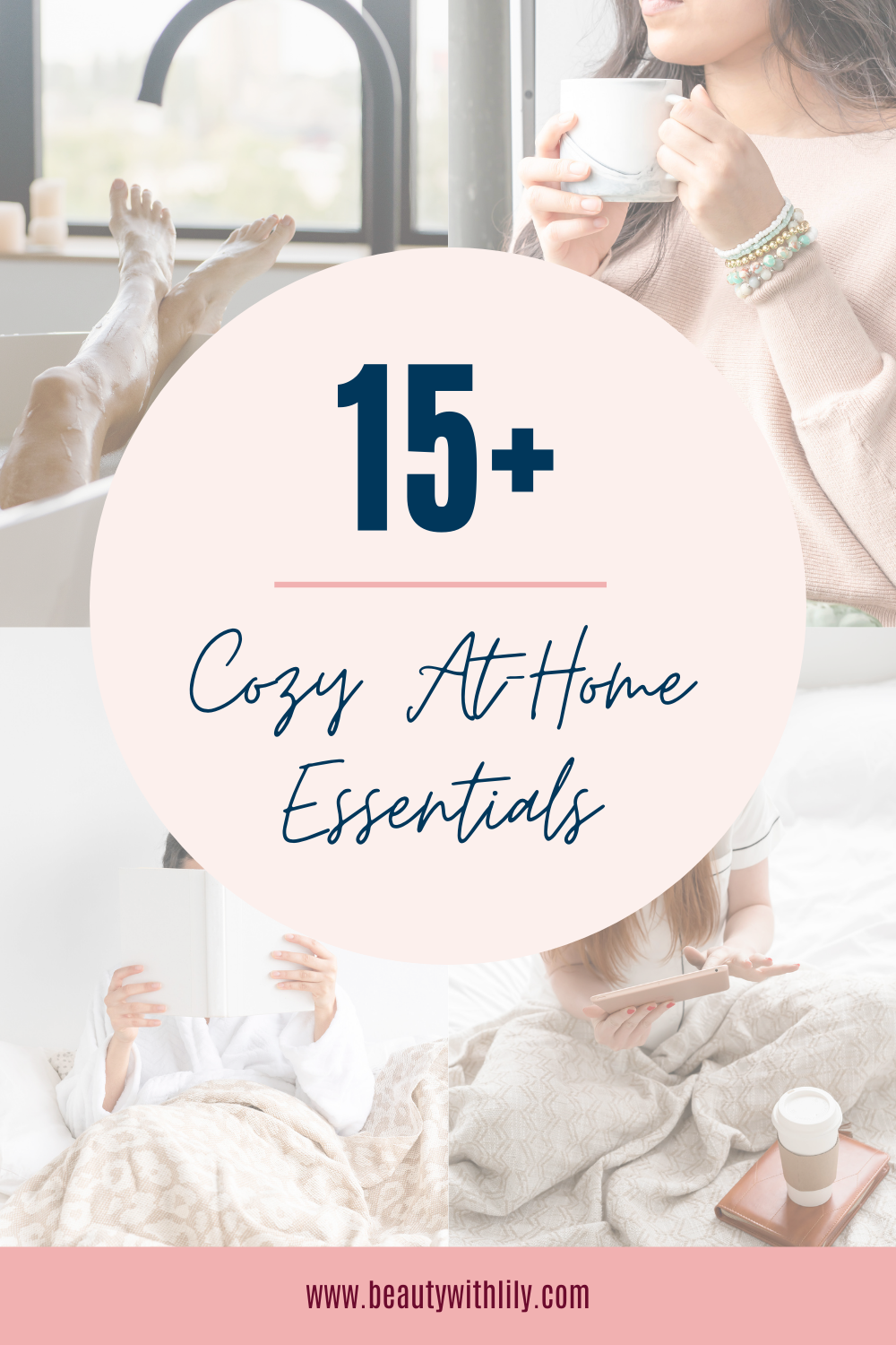Ultimate Cozy Night-In Essentials // Cozy At-Home Essentials // Simple Living // Cozy Living // Hygge Living // Hygge Must Haves // Cozy Must Haves // Cozy Essentials // How to Make a Space Cozy   Beauty With Lily #cozyliving